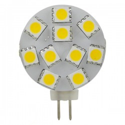 LED lamp 12v 2.2W g4 10x5050 WW