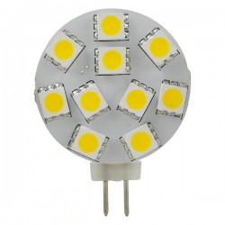 LED lamp 12v 2.2W g4 10x5050 WW