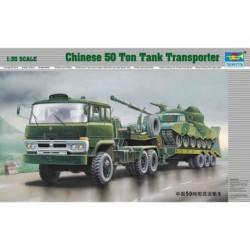 CHINESE 50 TON TANK TRANSPORTER 1/35