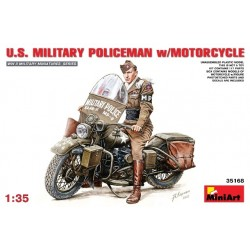 U.S. MP w/MOTORCYCLE 1/35