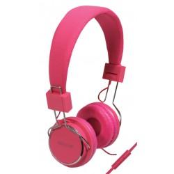 Bel-headset Roze