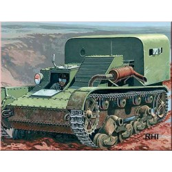 WWII TP-26 ARMOURED PERSONNEL CARRIER 1/72