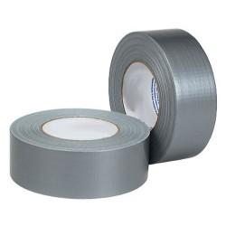 Textieltape 50m zilver