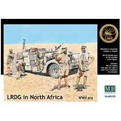 LRDG IN NORTH AFRICA WWII 1/35