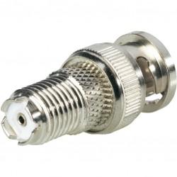 Adapter TNC fm / BNC ml