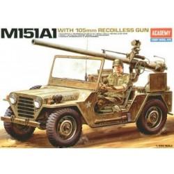 M151A2 JEEP 105MM GUN 1/35