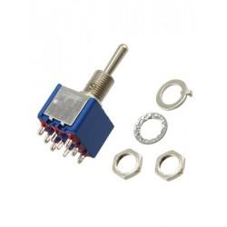 tuimelschakelaar mini 3x om   gat-6.5mm