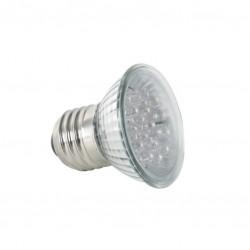 E27 230 volt ledlamp blauw