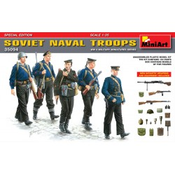 SOVIET NAVAL TROOPS. SPECIAL EDITION 1/35
