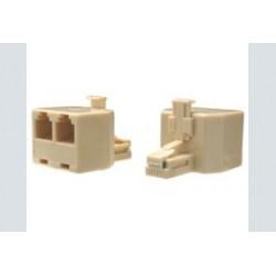 Adapter m-f-f   rj45 8p8c