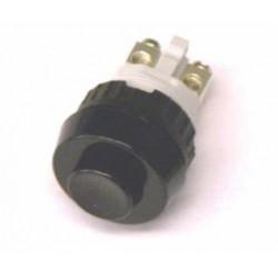 puls-drukschakelaar 250V0.7A 1x verbreek zwart gat-15mm