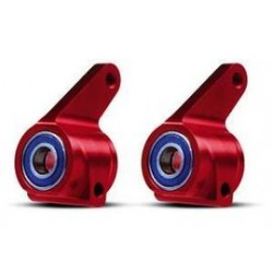 steering blocks alu red