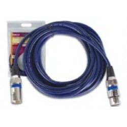 XLR kabel m/f 2.5mtr high-end