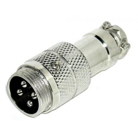 Cb-plug 4p.     male