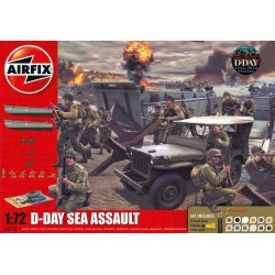 GESCHENKSET D-DAY SEA ASSAULT 1/72