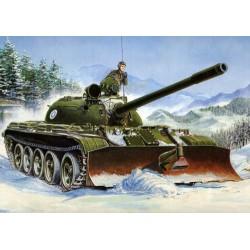 RIUSSIAN T-55+BTU 1/35