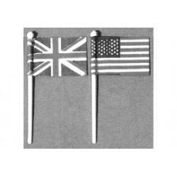 duitse vlag  20x30 mm