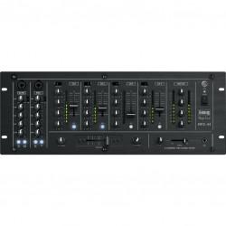 audio mengpaneel, DJmixer 4 kanaals, 2x mic.