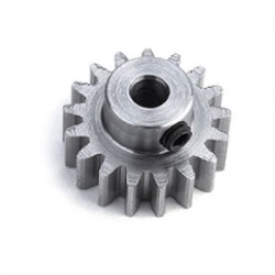 19t pinion 48dp (0.6 module) staal