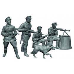WWII SOVIET FRONTIER GUARDS 1941 1/72