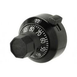 Dial h22-6a     bourns zwart