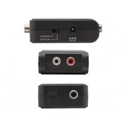 Audio converter dig/optanaloog