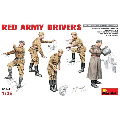 RED ARMY DRIVERS 1/35