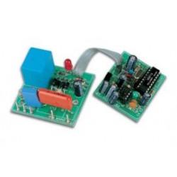 kit 1-kanaals IR ontvanger+relais