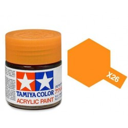 Potje acrylverf X-26 clear orange 23cc