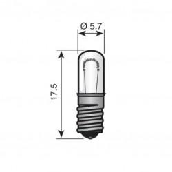 E5/5  3,5 v 100 mA lampje