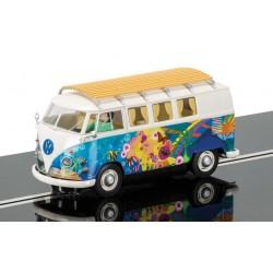 Slotrace auto Volkswagen hippie camper 1/32