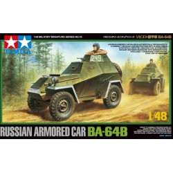 RUSSIAN ARM. CAR BA-64B 1/48