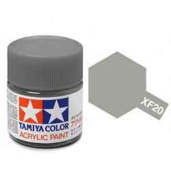 Potje acrylverf XF-20 medium grey 23cc