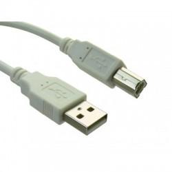 USB verbindingskabel  A B 2.5m