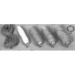 touw 0,3 mm gebleekt 50mtr