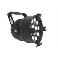 par 56 LEDlamp 12x1W zwart