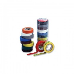 PVC flextape zwart 0,15x15mm 10mtr.