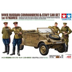 WWII RUSSIAN COM. STAF CAR SET 1/35