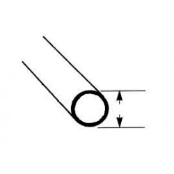 messing rond pijp 1,6 mm