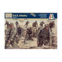 D.A.K. INFANTRY WWII 1/72