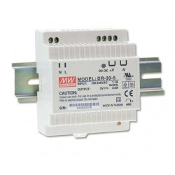 12V DC 2A voeding DIN rail 78mm (meanwell)