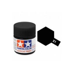 Potje acrylverf X-1 black 23cc