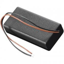 batterijhouder 2xAA in behuizing
