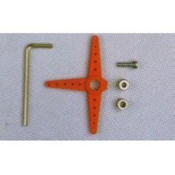 bedieningshefboom 60mm 3/4mm as