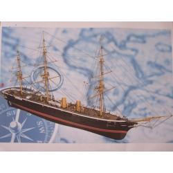 HMS Warrior 1/100   147x68x39cm