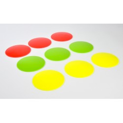 Mini fluor cornerpads 9st.