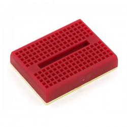 mini breadboard 4.7x3.7cm rood