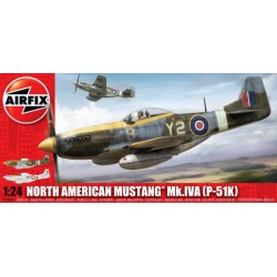 NORTH AMERICAN MUSTANG MK.IVA P-51K 1/24