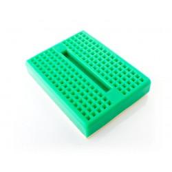 mini breadboard 4.7x3.7cm groen