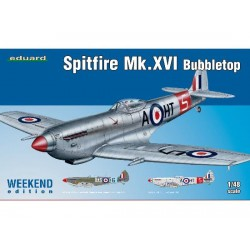 SPITFIRE MK.XVI BUBBLETOP WEEKEND EDITION 1/48